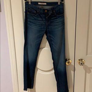 JBrand Straight Leg Blue Jean Size 28
